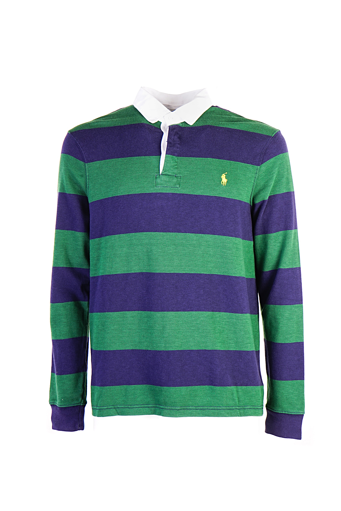 Rugby Stripes Polo Ralph With Blue Lauren Green NnOPm8yv0w