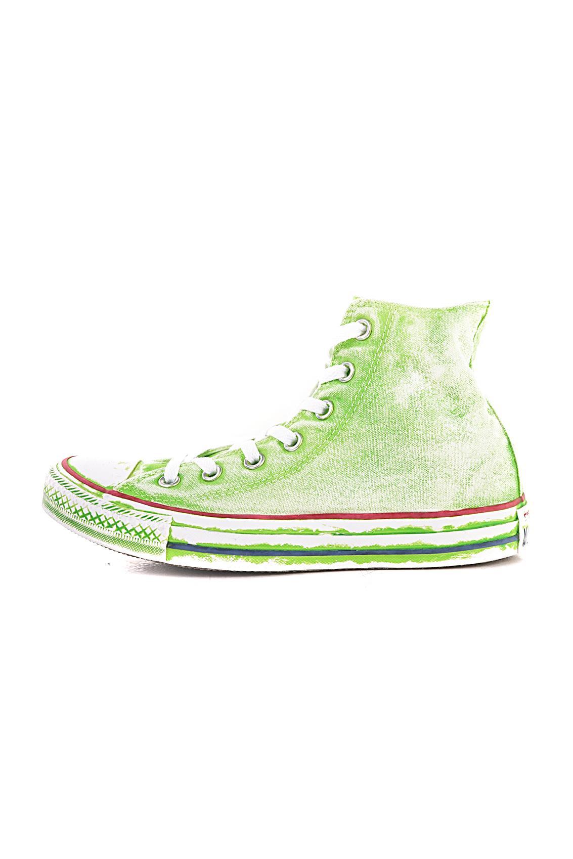 converse verde acido